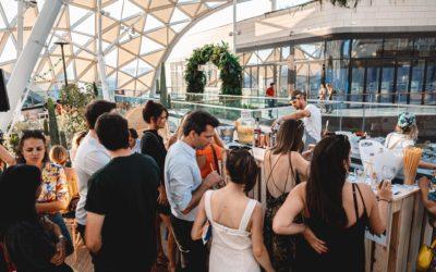 Cocktails et bar éphémère sur la Canopé | Bar Events