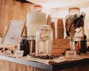 Bar Events présente ses prestations de bars à cocktails éphémères pour mariage au festival Just In Love 2020 à Toulon